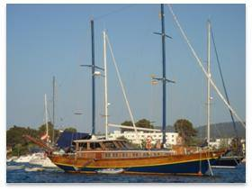 Turkish Gulet Sailing Boat